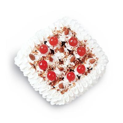 Torta de dulce de leche y frutilla