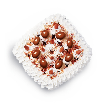 Torta de chocolate y vainilla